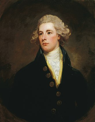 1784 British general election - Image: George Romney xx William Pitt the Younger xx Tate Britain