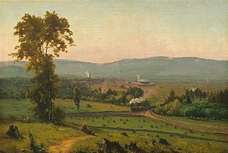 <i>The Lackawanna Valley</i> painting by George Inness