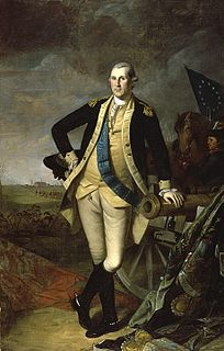<i>Washington at Princeton</i> 1779 painting by Charles Willson Peale now at Pennsylvania Academy of the Fine Arts