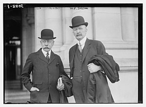 William F. Sheehan - Image: George Woodward Wickersham and William Francis Sheehan in 1914