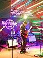 Georgian rock-band Vakis Parki performing at Hard Rock Cafe, Tbilisi. 27 October 2017 03.jpg