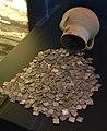 Gerreta amb tresor de dirhams, centre Arqueològic de l'Almoina.JPG