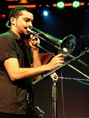 Gianluca Petrella - Gianluca Petrella live at Jazz Festival in Saalfelden, 2009.