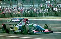 Gianni Morbidelli - Footwork FA15 leaves the pits at the 1994 British Grand Prix (32388854942).jpg