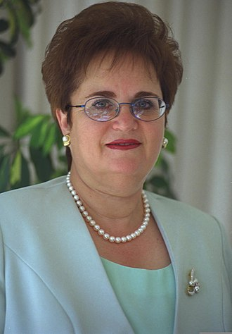 Moshe Katsav - Gila Katsav, 2001