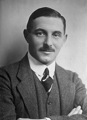 English: British novelist Gilbert Frankau (188...
