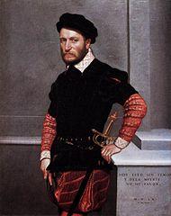 Giovanni Battista Moroni - Portrait of Don Gabriel de la Cueva, later Duke of Alburquerque - WGA16256.jpg