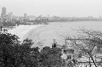 Girgaon - Image: Girgaum Chowpatty