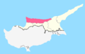 Girne District Map.png