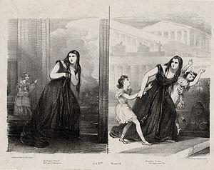 Medea in Corinto - Giuditta Pasta in Mayr's Medea in Corinth
