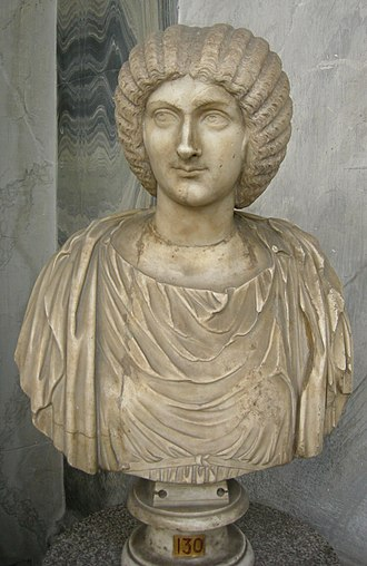 Caracalla - Bust of Julia Domna