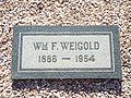 Glendale-Glendale Memorial Park-William F. Weigold.jpg