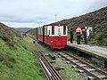 """Glengonnar Halt -1. """"Luce"""" with Train.jpg"""