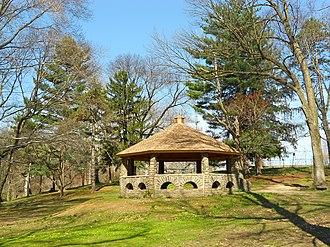 Glenolden, Pennsylvania - Gazebo in Glenolden Park