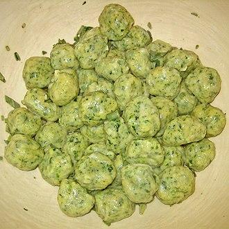 Gnocchi - Image: Gnocchi del Casentino