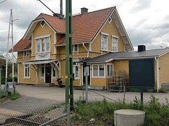 Gnosjö Municipality - Gnosjö Railway Station