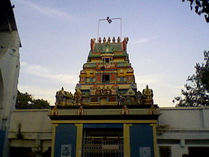Chilkoor Balaji Temple - Gopuram at Chilkur Temple