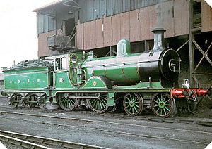 Great North of Scotland Railway - No. 49 Gordon Highlander, built in 1920 for the Great North of Scotland Railway (1964)