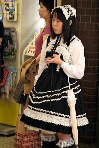 Lolita fashion - Image: Gothic lolita dress