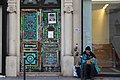 Graffiti on door with homeless man.jpg