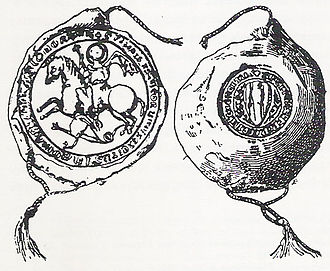 Catalan Company - Image: Gran Companyia Catalana segell 1305