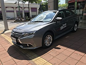 Grand Lancer test drive car front perspective.jpg