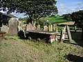 Graveyard, The Parish Church of St John the Evangelist, Crosscanonby - geograph.org.uk - 527604.jpg