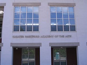 Greater Hartford Academy of the Arts - Image: Greater Hartford Academy of the Arts, Hartford, Connecticut 20070524