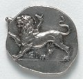 Greece, Peloponnesus, 4th century BC - Drachma- Chimera (obverse) - 1917.979.a - Cleveland Museum of Art.tif