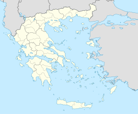 ایتھنزAthens is located in یونان