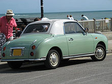 Automotorétro Lomme 2018 220px-Green-Nissan-Figaro