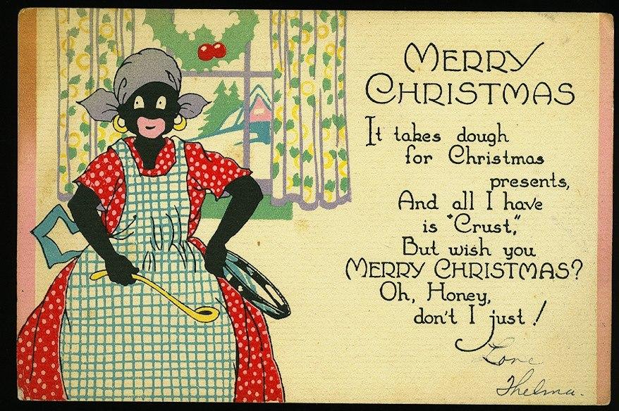 Greeting Card Christmas 1920