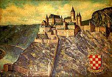 Die Grevenburg in ihrer Ursprungsform