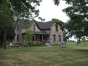 National Register of Historic Places listings in Huron County, Michigan - Image: Grice House 01s