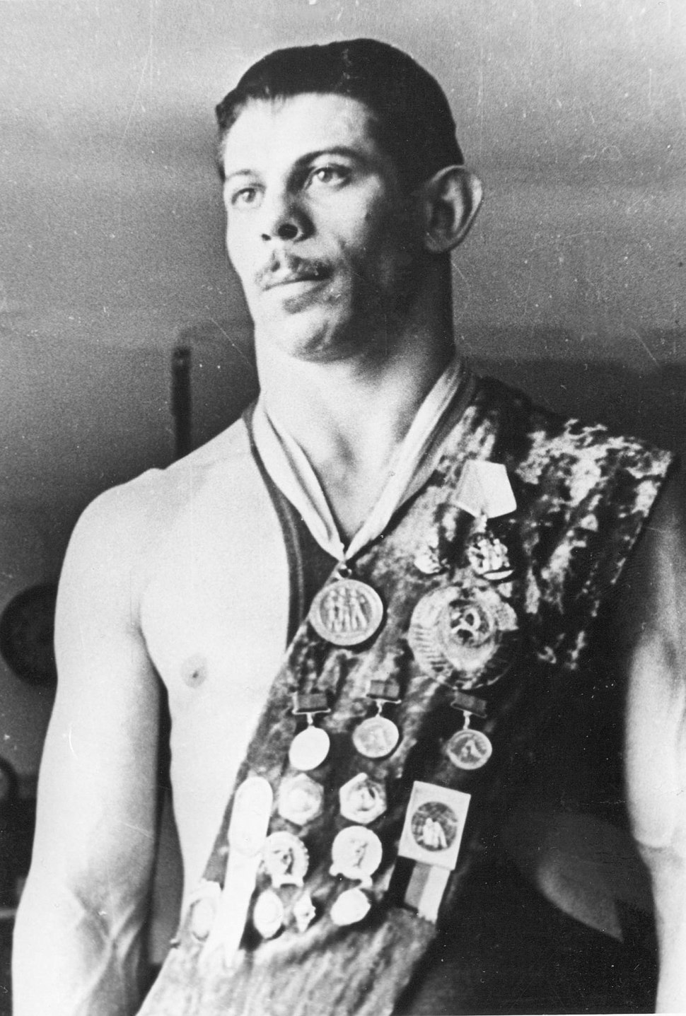 Grigoriy Gamarnik at the height of his career