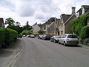 Grittleton village (westwards)