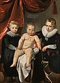 Groepsportret van drie broers Rijksmuseum SK-A-4850.jpeg