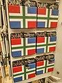 Groninger flag refrigerator magnets at de Boergondiër, Groningen (2018).jpg