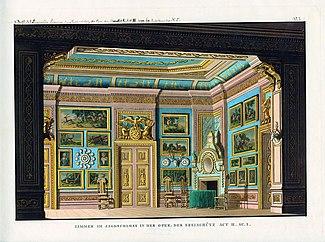 Set design for Der Freischütz, by Carl Maria von Weber (Source: Wikimedia)