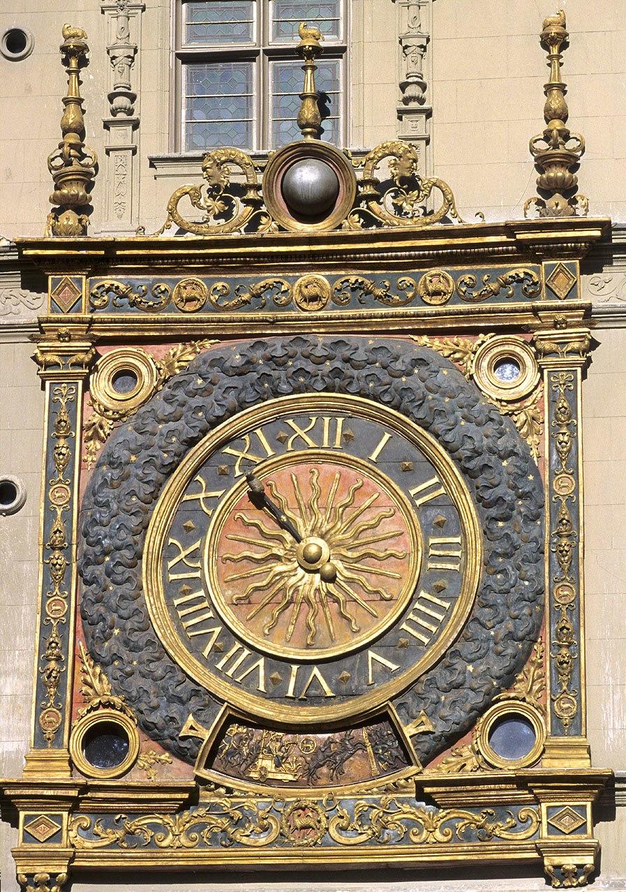 Gros-Horloge, détail