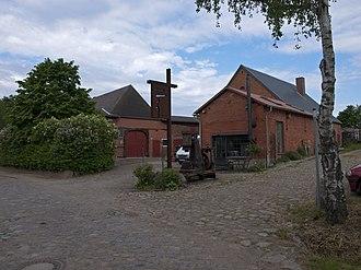 Groß Disnack - Blacksmith shop Schmeedbart.