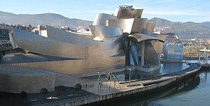 Starchitect - The Guggenheim Museum Bilbao, along the Nervión River, Bilbao, Frank Gehry