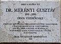 Gusztáv Merényi plaque Bp03 Föld50b.JPG