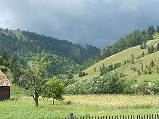 Lunca de Jos Commune in Harghita, Romania