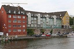 Häuser an der Schlagd Kassel