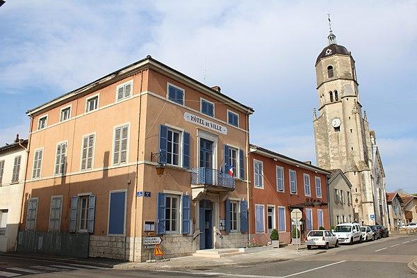Photo de la ville Bâgé-le-Châtel