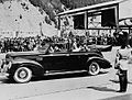 H.M. King George VI and Queen Elizabeth at Wolfe's Cove to begin their visit to Canada.jpg