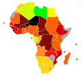 HDI Africa-IDH África 2007.png