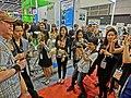 HKCEC 灣仔會展 Wan Chai 國際食品酒店餐飲設備服務展 Hofex Wine 黃秋生 Anthony Wong Chau sang visitors May-2013.JPG