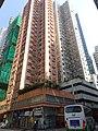 HK Kennedy Town 22-34 Catchick Street 士美菲路 Smithfield Shun Hing Building facade Feb-2016 DSC 001.JPG